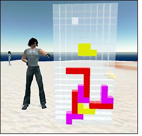 Second Life e Tetris
