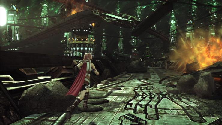 Ce la farà Final Fantasy 13 ad andare oltre gli stereotipi, e a proporre delle innovazioni che non sappiano di idee riciclate? La demo mostra dei timidi intenti.