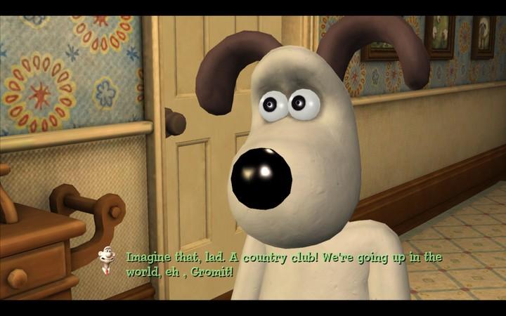 Il sesto senso di Gromit non condivide l'entusiasmo di Wallace
