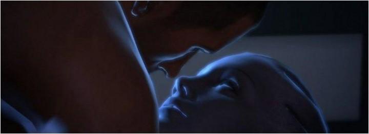 Shepard e Liara