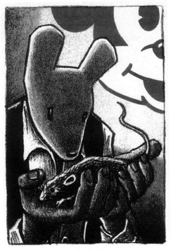 "Vignetta tratta da ""Maus"" di Art Spiegelman"