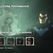 Le singole sfide possono essere affrontate con altri personaggi oltre a batman, e ci sono diverse skin a disposizione