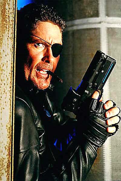 Nick Fury - The Hoff