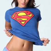 girl superman blue