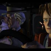 Doc e Marty tranquillissimi e ignari